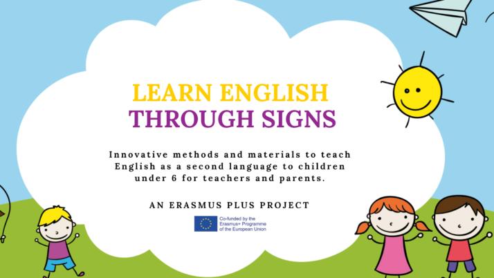 Erasmus Plus – Learning English Through Signs